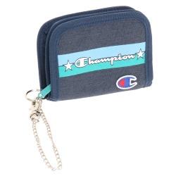 ≪Champion/チャンピオン≫ ジョーイ 二つ折り財布 ラウンドファスナー コインケース・ウォレットチェーン付き 57461