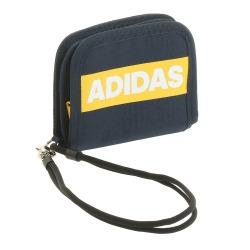 ≪adidas/アディダス≫ 二つ折り財布 ファスナー開閉コインケース・ウォレットコード付き 57618