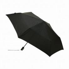 Knirps 折り畳み傘/ Flat Duomatic ピンストライプブラック / 75316-02