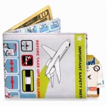 ≪mighty wallet≫ 財布 2つ折り札入れ インフライト / 75341-04