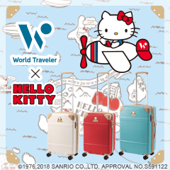 World Traveler × HELLO KITTY